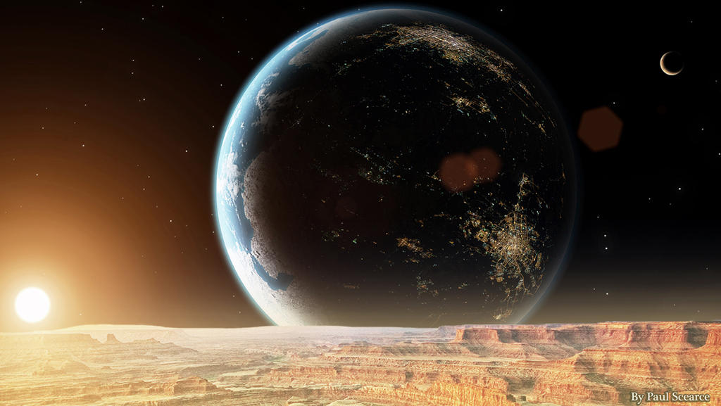 Alien Civilization by SilentMobster42