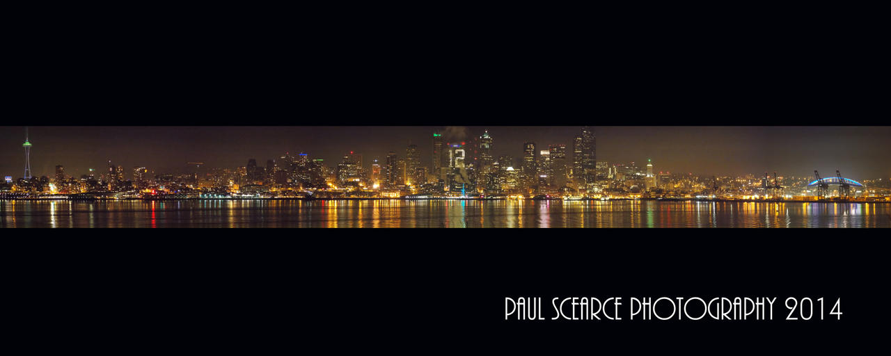 seattle panoramic 1 by photoboy1002001 on deviantart seattle skyline with seahawks fever by silentmobster42 on 669