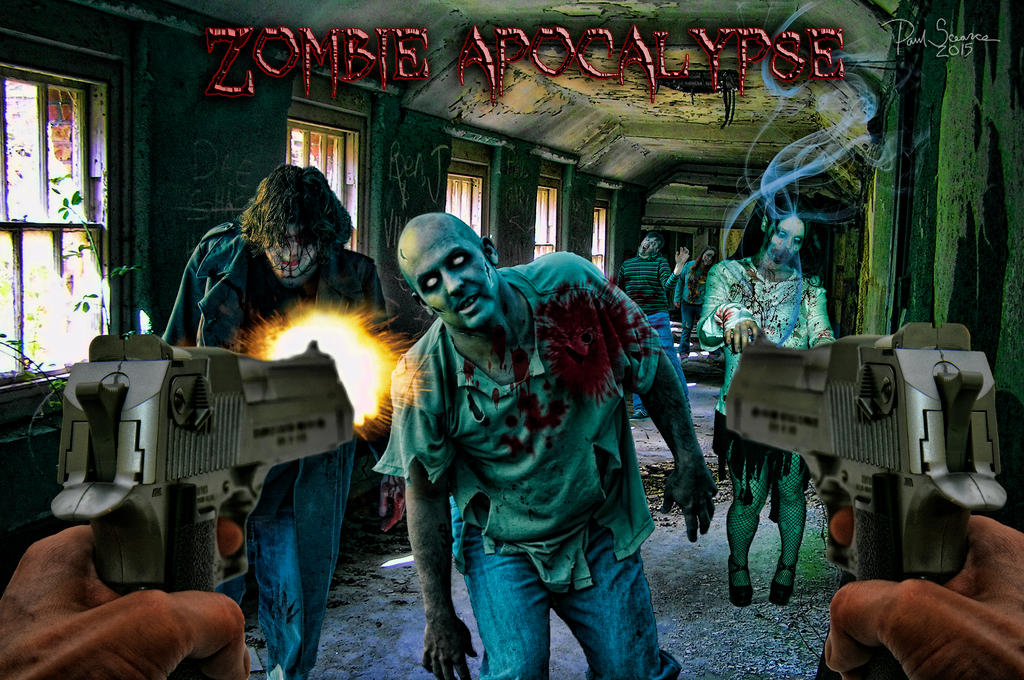 Zombie Apocalypse (Re-edition) by SilentMobster42