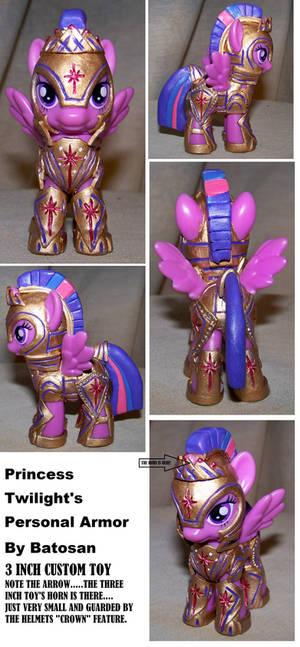Princess Twilight's Personal Armor