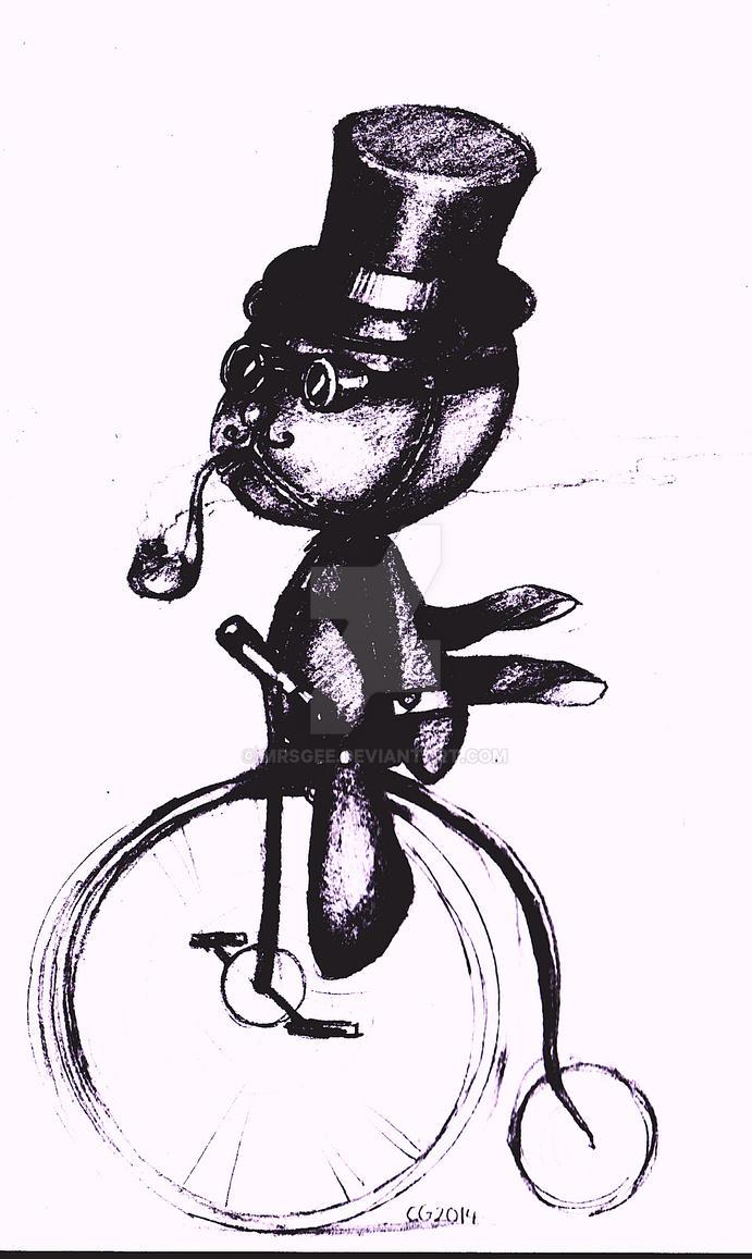 Steampunk Bear by MrsGee