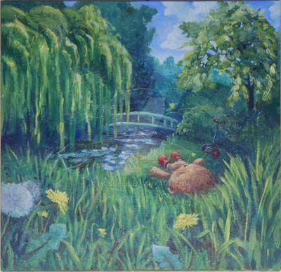 Gardener Bear by MrsGee