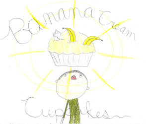 Banana Cream Cupcakes by smurfmeat