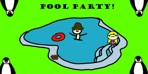 Pool Party by smurfmeat