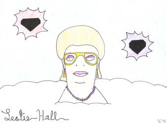 Leslie Hall by smurfmeat