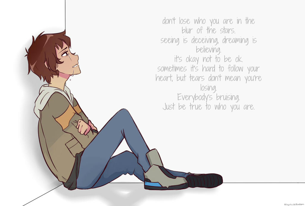 who you are || lance mcclain by AliyahIceQueen