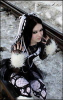 black and white cyber goth by mysteria-violent