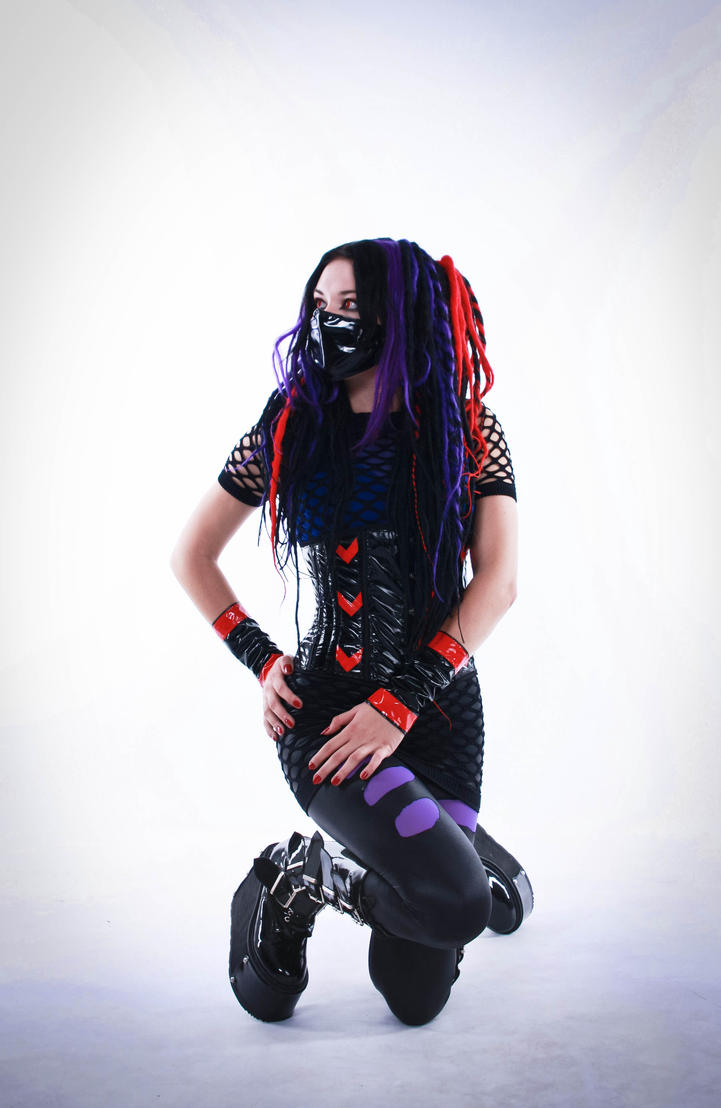cybergoth IV by mysteria-violent