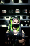 Neongreen Cybergoth