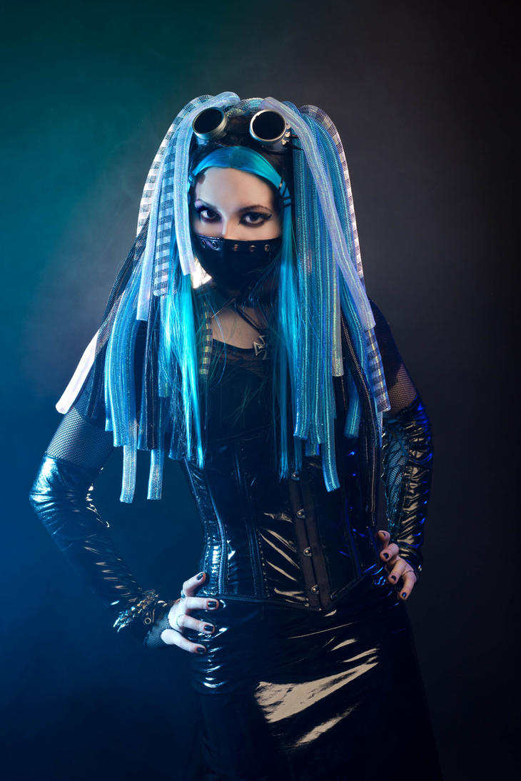 Cyber goth people bing images