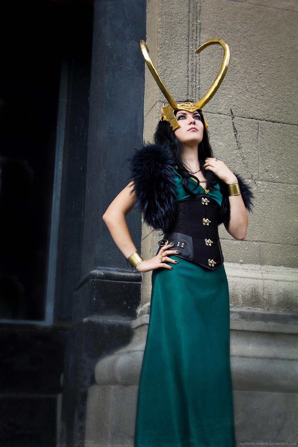 Goddess of Mischief by mysteria-violent