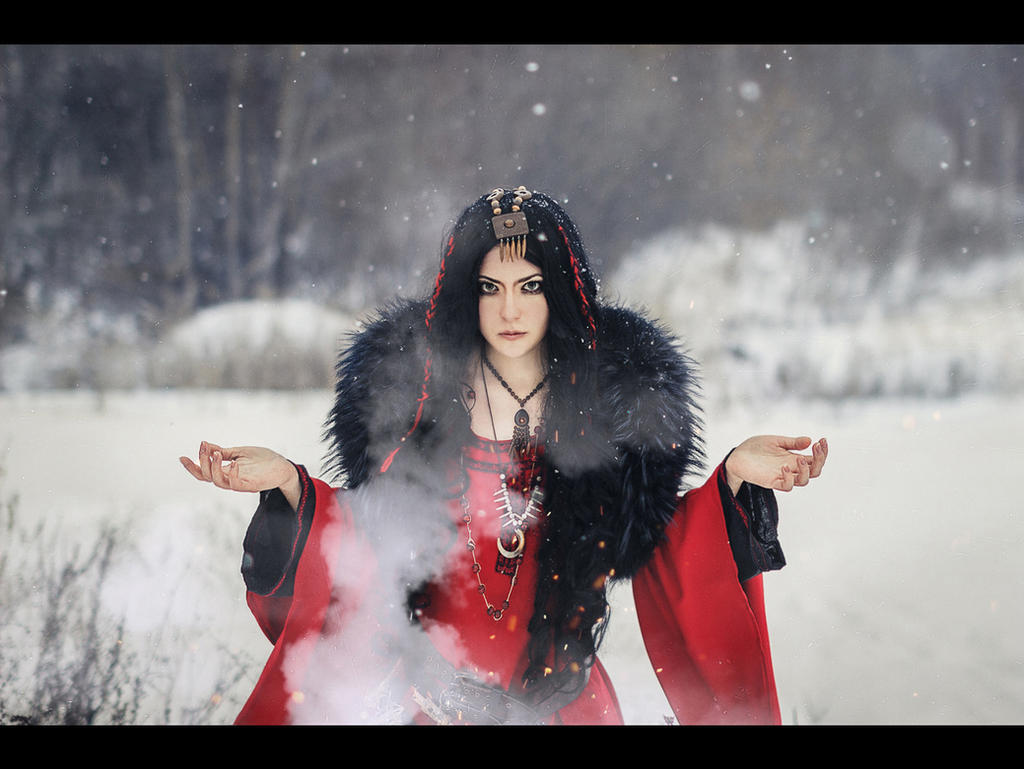 Northern witch by mysteria-violent