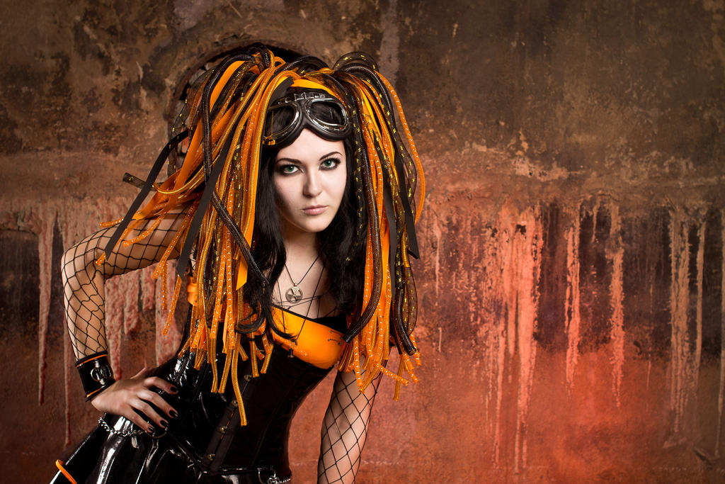 Cyber phoenix by mysteria-violent