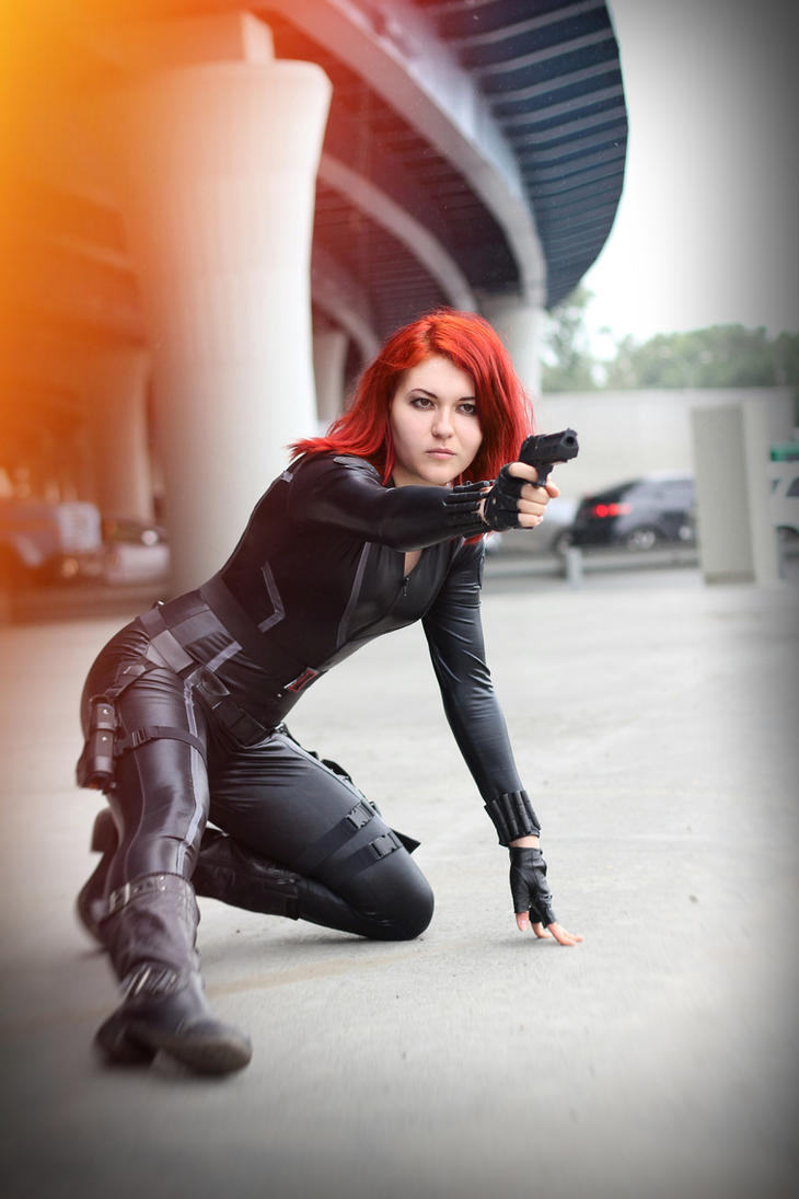 Black Widow Cosplay by mysteria-violent