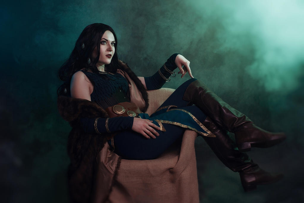 Lady Loki cosplay by mysteria-violent