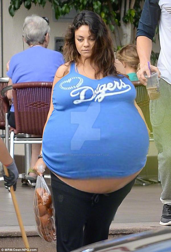 Mila Kunis Pregnant By No1drwhofan On Deviantart