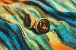Miniature Chocolate Frosted Donut Stud Earrings