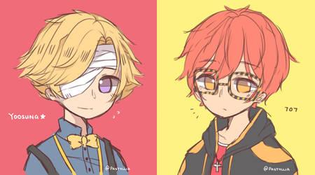 two lil cuties