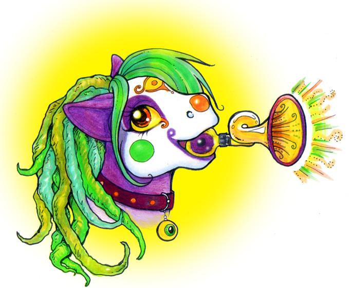 Magic Clown Horn
