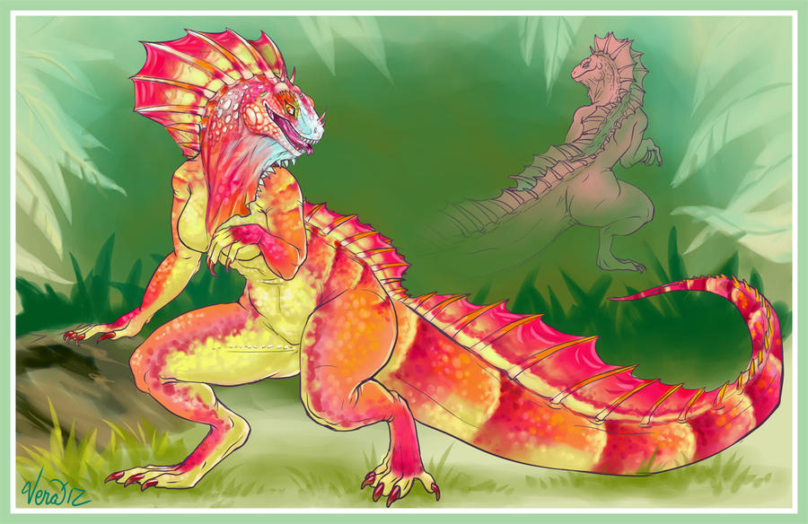 Amargasaurus Gerine by Blattaphile