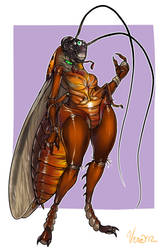 Ingrid the Cockroach