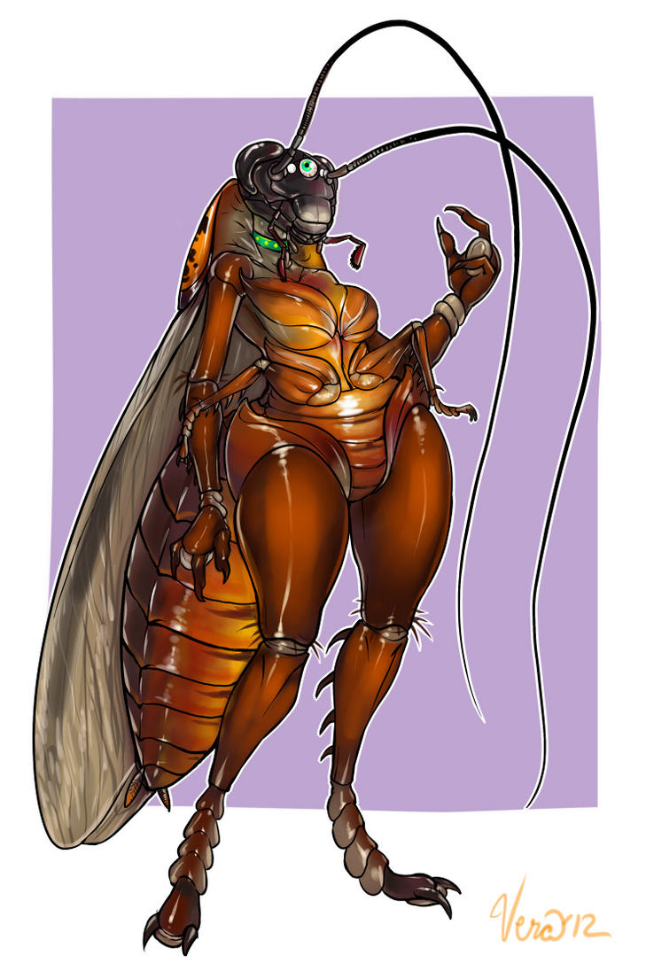 Ingrid the Cockroach by Blattaphile
