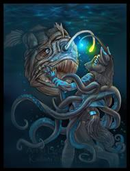Deep Sea Encounter by Blattaphile