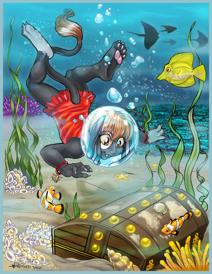 Sunken Treasure by Blattaphile