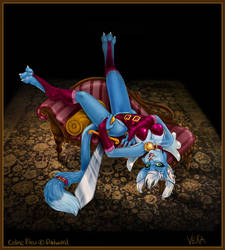 Dadward Trade - Celine Bleu by Blattaphile