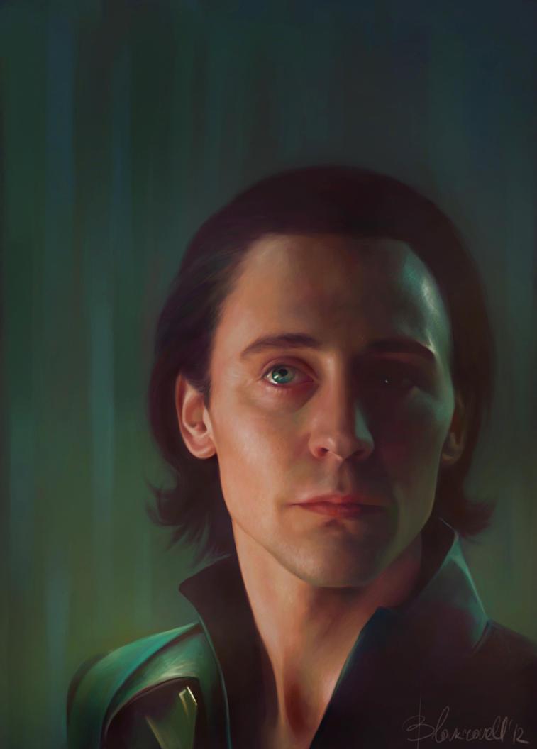 Loki by ~Blakravell