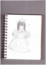 Maid. by snowyraspberry