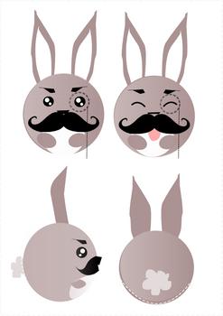 Sir. Bunny character design