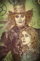 My Mad Hatter by Mirianes