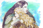 Fingon and Idril: You've came back!