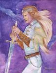 Birth of Wrath. Fingolfin by Mirianes