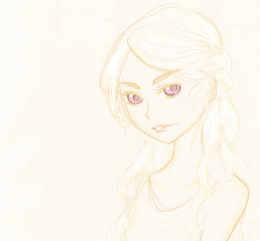Sketch-GOT-Daenerys by FuranBi