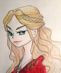 Cersei Lannister WIP by FuranBi