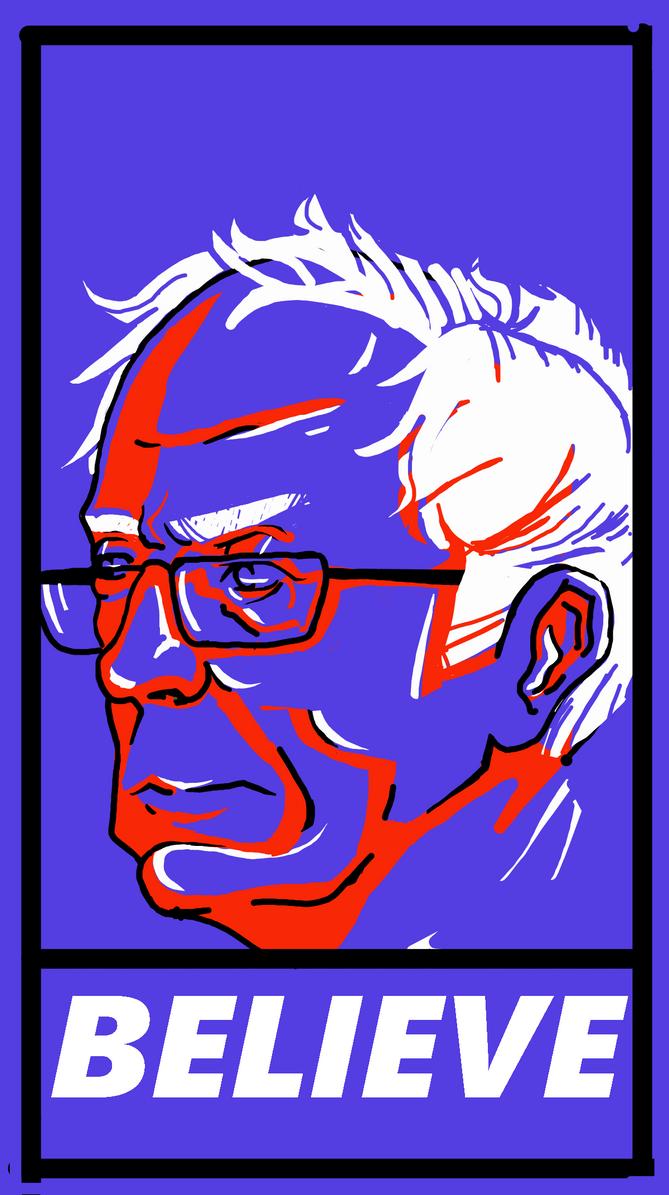 Bernie poster 2 by Lucky-schmuck