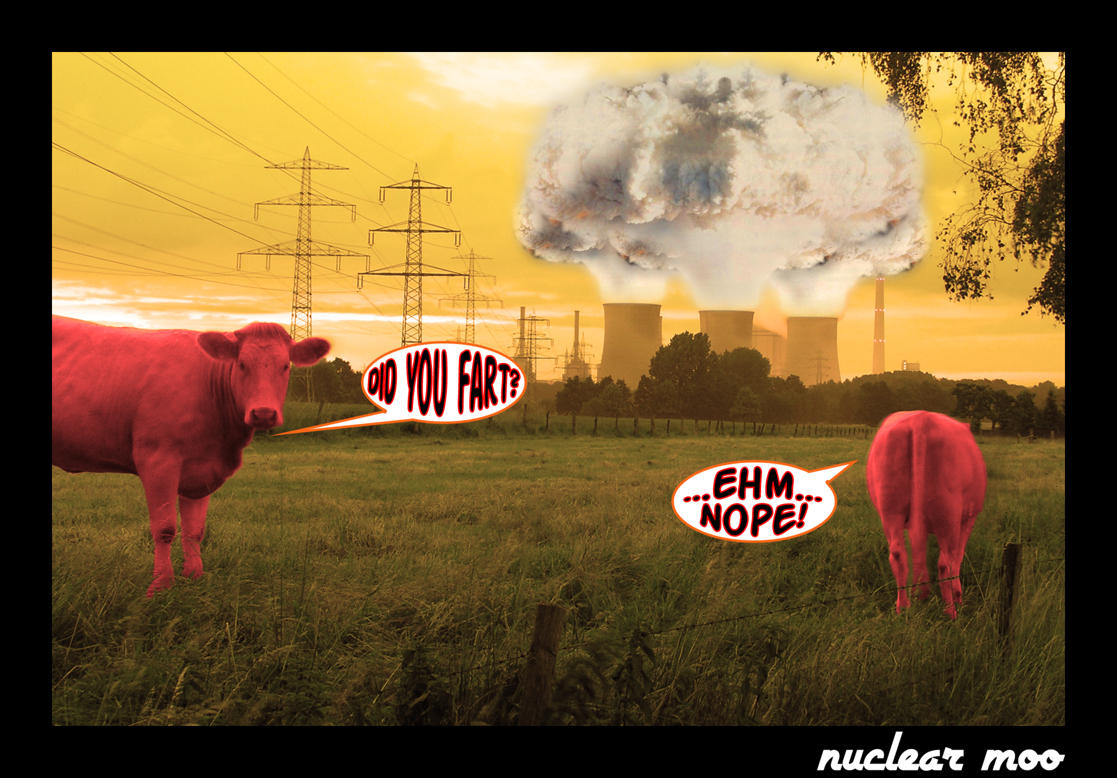nuclear moo by iamabanana