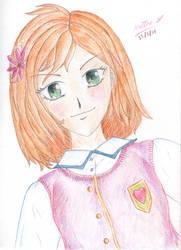 Manga Practice - Teen Girl, front view by matmohair1