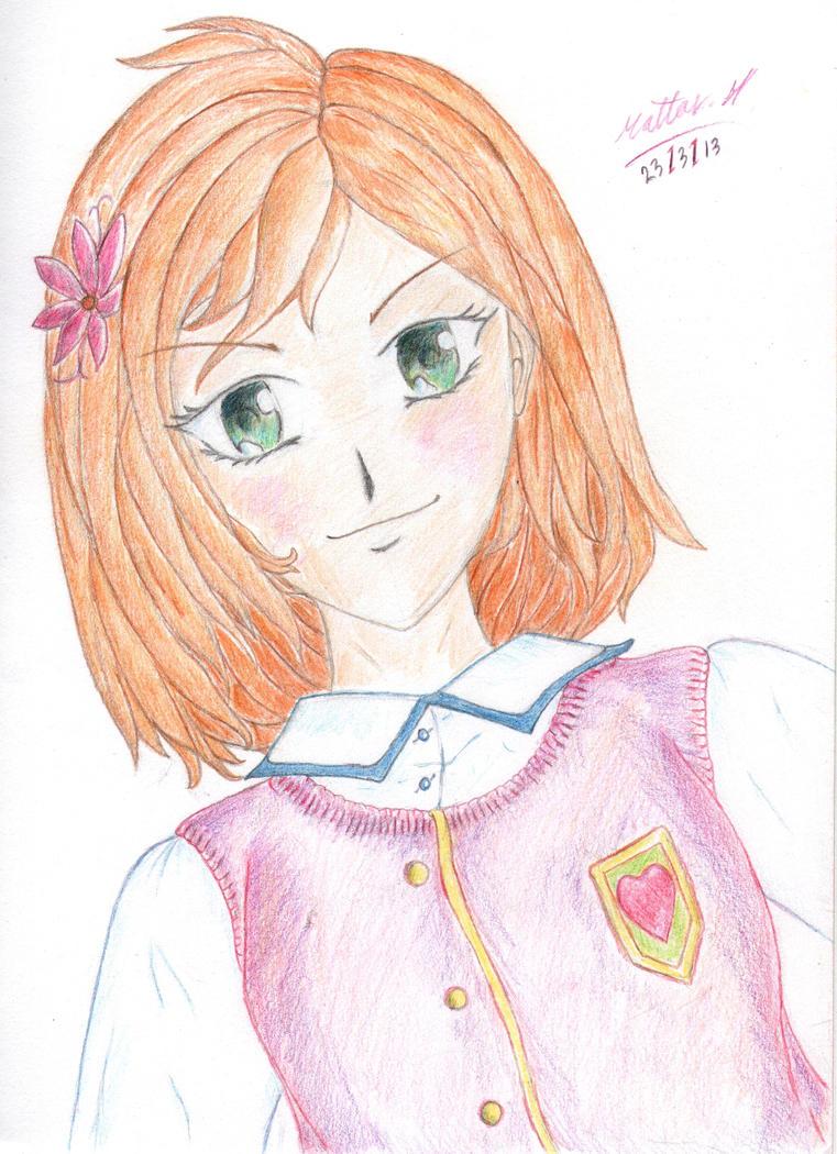 manga teen girl