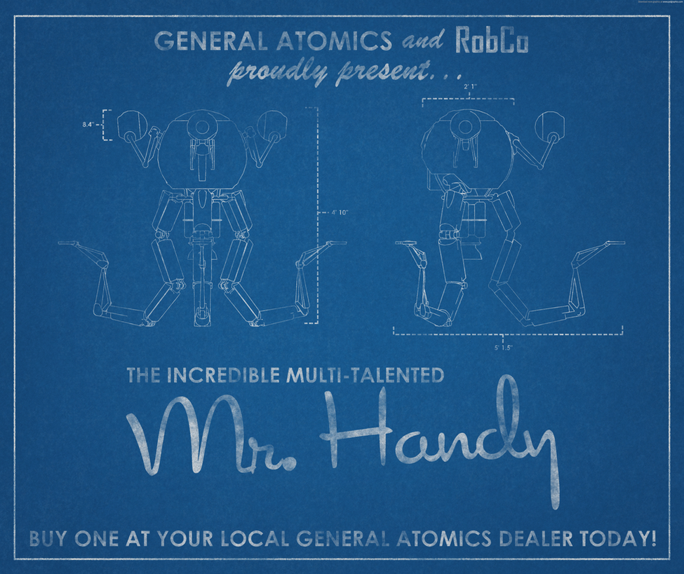 Mr handy promo blueprint by milky shakester on deviantart mr handy promo blueprint by milky shakester malvernweather Images