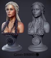 Daenerys Targaryen the Khaleesi by iononemillion
