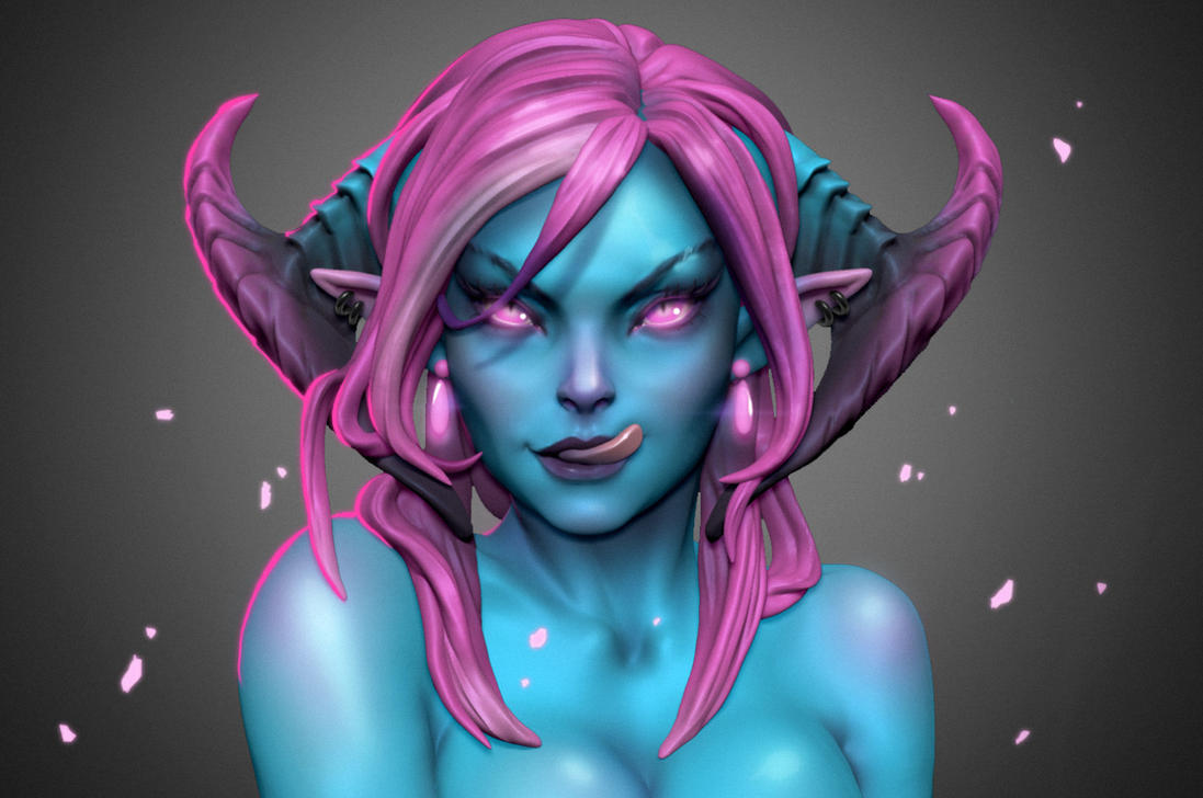 Sakimi Chans's Devil Girl by iononemillion
