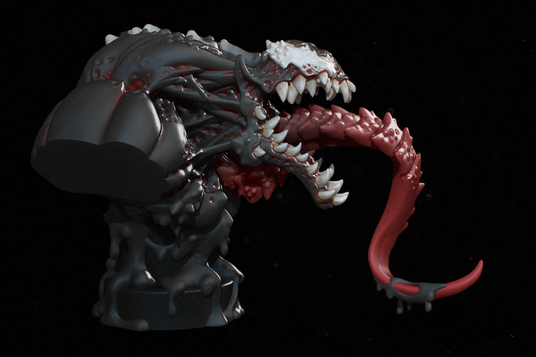 Venom Side by iononemillion