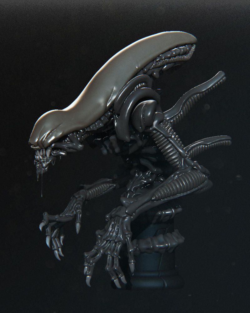 Alien by iononemillion