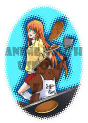 Anime North Apron 2012 by shunjin