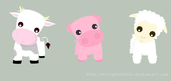 http://fc02.deviantart.com/fs15/i/2007/027/e/a/cow_pig_sheep_by_KittySkeleton.jpg