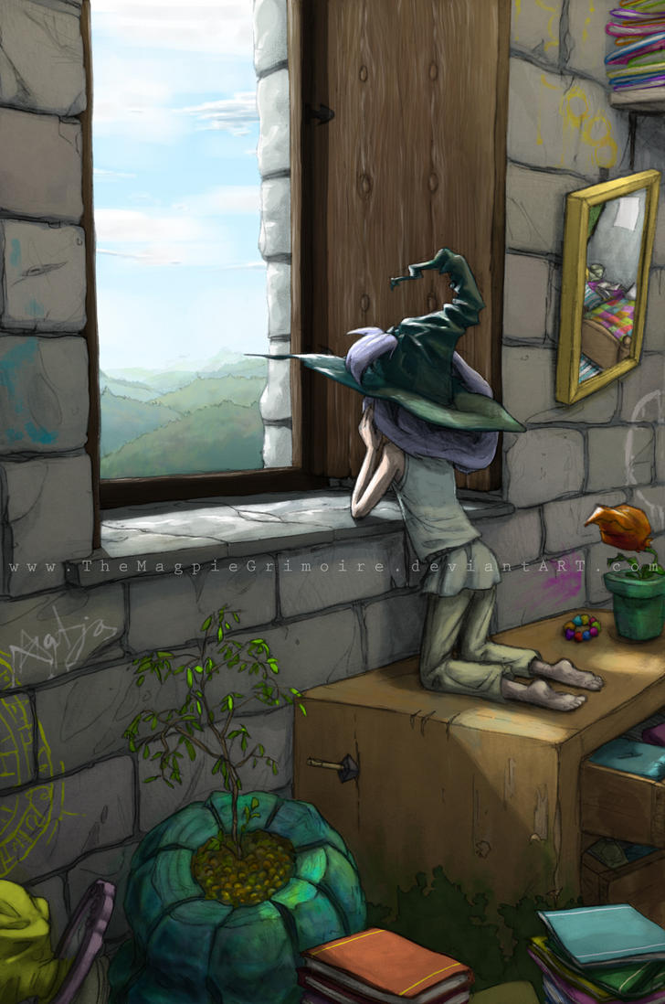 Homesick by MagpieFreak