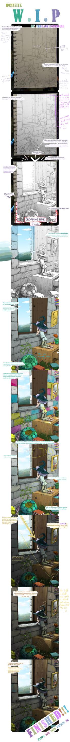 Homesick W.I.P by Jackoburra